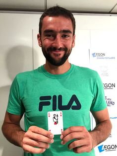 StarCards supporter Marin Cilic