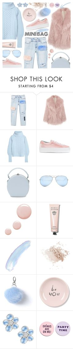 """So Cute: Mini Bags"" by tinkabella222 ❤ liked on Polyvore featuring MANGO, Miu Miu, Temperley London, Chiara Ferragni, Handle, GUESS, Topshop, Bobbi Brown Cosmetics, Miss Selfridge and Fringe"