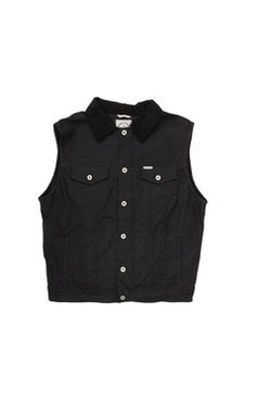 Rambler Vest in Black by Iron & Resin Sustainable Fashion, Resin, Geek Stuff, Iron, Cool Stuff, Jackets, Black, Dresses, Cool Things
