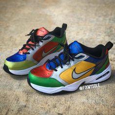 The 50 Best Nike Air Monarch Customs Nike Air Monarch, Dad Shoes, South Beach, Tommy Hilfiger, Kicks, Footwear, Sneakers Nike, Stylish, Nike Tennis