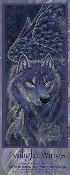 Windwolf Studio :: Creativity at the speed of flight. Visionary symbolic artwork, prints, feather and drum paintings and t-shirts available in our online shop Fantasy Wolf, Fantasy Art, Wind Wolves, Maned Wolf, Wolf Howling, Wolf Artwork, Wings Drawing, African Wild Dog, Wolf Pictures