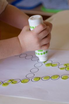 dot to dot letters....we will be doing this too :)