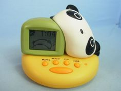 San-X Tare Panda Alarm Digital Clock Bandai  Japan (DL063