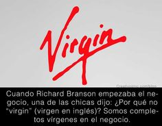 Significado logo Virgin