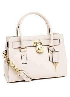 Micheal Kors- Hamilton e/w Satchel    i want in this color or black.