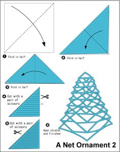 Origami for Everyone – From Beginner to Advanced – DIY Fan Kirigami Templates, Origami And Kirigami, Origami Fish, Paper Crafts Origami, Origami Paper, Diy Paper, Paper Art, Deco Ballon, Origami Dragon