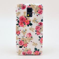 Samsung Galaxy S5 cases - Google Search (Freshly picked flowers phone case)