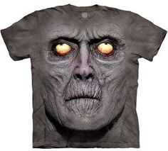 Time for a new cool graphic t-shirt? Try the Zombie Portrait T-Shirt on for size! Shop The Mountain website for the largest and coolest selection of fantasy t-shirts online. Zombie Face, Best Zombie, Funny Zombie, Zombie Shirt, Dark Fantasy, Impression Sur Tee Shirt, Zombie Gifts, Big Face, 3d T Shirts