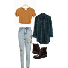 Grunge Outfit #2 by sydney-mocilan on Polyvore featuring polyvore, fashion, style, Madewell, Topshop, Dirty Laundry and clothing