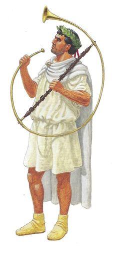 Корницен в церемониальной одежде. 9 г.н.э.