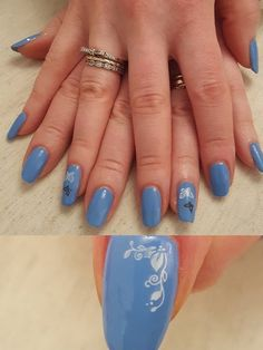 Chroma Gel 1 Step Alice in Neverland is a beautiful Cornflour Blue gel colour. No base or top coat needed! www.chromagel.co.uk #chromagel #1stepgelpolish #gelpolish #naildesign #tryitloveit
