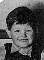 Dave at Nursery School - aged 4 - 1942