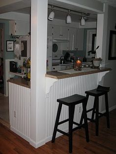 breakfast bar - almost like ours will look ;)