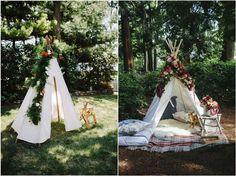 28 Whimsical Bohemian Teepee Wedding Details | Deer Pearl Flowers