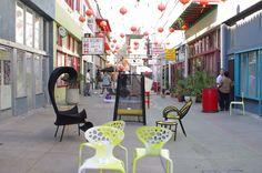 Architype | Moroso: Husk Armchair, Shadowy Armchair, Morning Glory Low Table, Banjooli Chair, Banjooli Low Table, Supernatural Chairs
