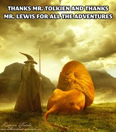J.R.R. Tolkien and C.S. Lewis…