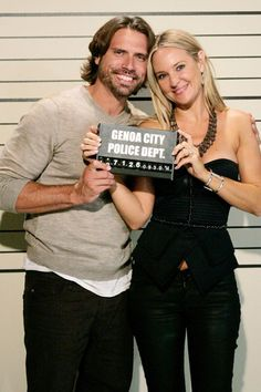 Nick (Joshua Morrow) and Sharon Newman (Sharon Case) are getting married on The Young and the Restless, but in soap opera fashion, the pre-party gets dramatic. To celebrate the upcoming nuptials, a bachelor/bachelorette party is thrown, and 20 people ended up in jail as a result! The bachelor party episode will air on September 30, and the wedding episodes are set for October 3 and October 6.    See the mugshots from the cast in jail in these photos.    Y&R is celebrating 25 years as the ...