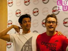 Stephen Colletti (Chase) and Robert Buckley (Clay) :)
