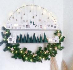 Nordic Christmas, Christmas Minis, Diy Christmas Ornaments, Christmas Gift Wrapping, Christmas Countdown, All Things Christmas, Christmas Holidays, Christmas Wreaths, Xmas Decorations