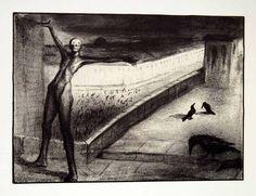 Alfred Kubin Alfred Kubin, Yellow Art, Fantasy Monster, Arte Horror, Surreal Art, Macabre, Art Techniques, Figurative Art, Dark Art