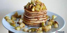 Rýžové lívance - Fitnesák | Fitness magazín Czech Recipes, Pancakes, Muffins, Food And Drink, Cookies, Breakfast, Fitness, 3, Foods