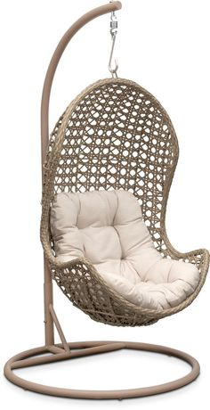 Swing Egg Stoel.Woven Half Egg Hanging Chair Heck Yes Furniture Design Great