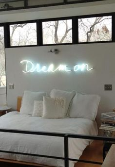 AphroChic: 10 Ways to Light Up Your Space with Neon Signs - DIY Refashion