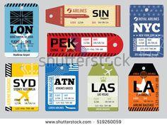 Αποτέλεσμα εικόνας για airline tags and labels