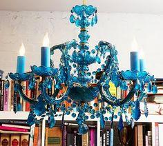 Karen Sugarman Designs: Proud As a Peacock – Blue For Spring 2010