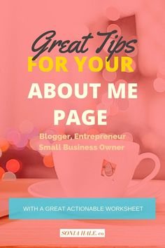 Your About Me Page, Blog, How To Start A Blog, How To Create A Blog, Blogging…