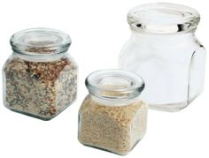 Anchor Hocking 32-Ounce Emma Jar with Glass Lid, Pack of 4 by Anchor Hocking. $25.04. Perfect to use as bathroom and kitchen storage. Safe to use in the dishwasher. Holds upto 32-ounce. Made in USA. Ideal for crafting and decorating. These new apothecary jars from anchor hocking are perfect for every setting from bathroom and kitchen storage to decorating, candles and much more. A functional version of popular high-end apothecary jars, perfect for crafting. Ja...