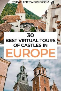 Looking for the best virtual tours of castles in Europe? Check out this roundup of 30 epic online castle tours! Virtual Museum Tours, Virtual Tour, Europe Travel Guide, Europe Destinations, Cool Places To Visit, Places To Travel, Virtual Travel, Travel Pro, Euro Travel