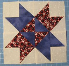 Entwined Star Block Picture bom