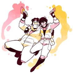 .AlonE.<<< we need to see more Keith and Hunk in season 4, they have such a good dynamic