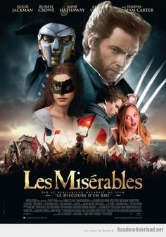 les miserables humor- my favorite thing in this picture is Karen, love Mean Girls!