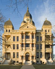 [Building] - Old Denton County Courthouse Denton TX - built in 1896