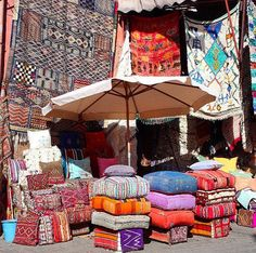 « While the Kingdom of Morocco only grows more complex the further you dive in, it's easy to be distracted by all the colors. The sights and sounds and… Sight & Sound, It's Easy, Marrakech, All The Colors, Morocco, Diving, Spain, Colorful, Outdoor Decor