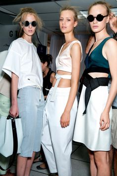 3.1 Phillip Lim SS15 backstage shop the collection on tessabit.com