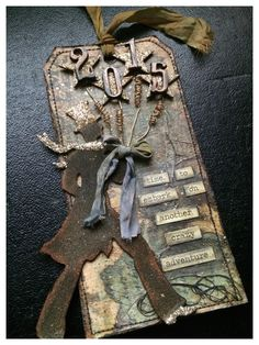 Tim Holtz 12 Tags of 2015 January