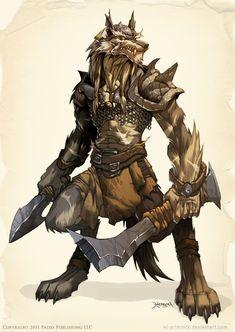 WOLF Warrior by *el-grimlock on deviantART