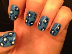 Blues... With flowers!