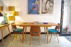 komplet jadalniany Tatra lata 60 House Ideas, Interior And Exterior, Interior Design, Global Design, Postmodernism, Mid Century Design, Midcentury Modern, Dining Rooms, Interior Inspiration