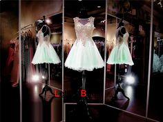 Short Prom Dress,Mint Green Prom Dress,Cheap Prom Dress,Prom Dress 2016,8th Grade Prom Dress,Mint Green Evening Dress, Short Evening Dress,Formal Dress, Homecoming Dresses, Graduation Dress, Cocktail Dress, Party Dress