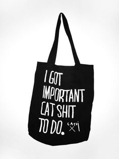 @Christina Thorne - Holy Cat Shit Tote