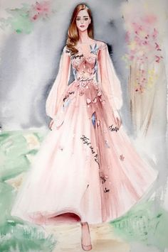 Paolo Sebastian SS18 by @yangerfashion #FashionIllustrations |Be Inspirational ❥|Mz. Manerz: Being well dressed is a beautiful form of confidence, happiness & politeness