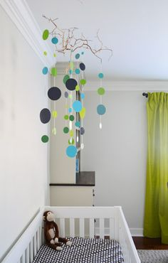 baby boy's room via @Sherry S @ Young House Love