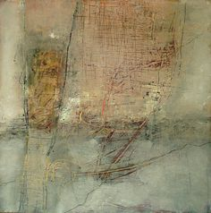 She Could Only Sigh by Jeane m Myers - mixed media on board 10x10 www.jeanemyers.com  www.jeane-artit.blogspot.com