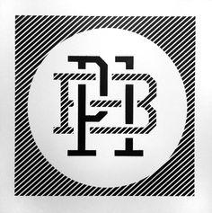 P1 Brand monogram stencil