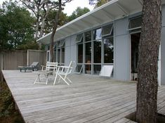 Inspiration for our west sonoma weekend house. first we need to find property/house to redo. Lechay Deck Remodel in Cape Cod, Remodelista