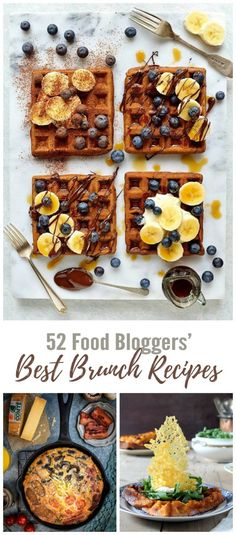 52 Best Brunch Recipes from UK Food Bloggers